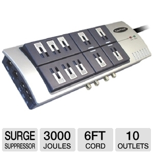 CyberPower 1090 Surge Suppressor