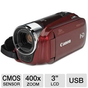Canon HF R20 HD 8GB Red Camcorder