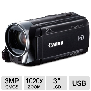 Canon VIXIA HF R30 Full HD Digital Camcorder