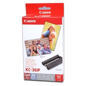 Canon - KC-36IP - Ink And Card Size Paper Set