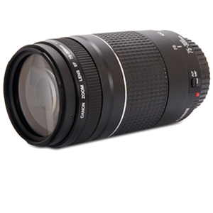 Canon EF 75-300MM F/4-5.6 III Lens Bundle
