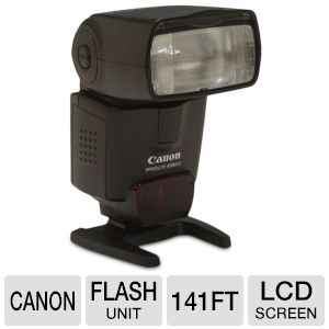 Canon Speedlite 430EX II Flash Unit