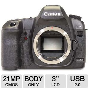 Canon EOS 5D Mark II Digital SLR Camera (Body Only