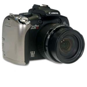 Canon PowerShot SX20 IS 12.1MP Digital Camera