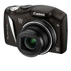 Canon PowerShot SX130 IS 12MP Digital Camer REFURB