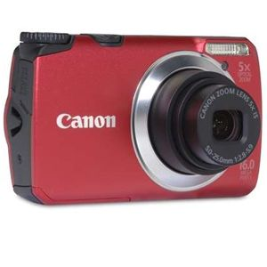 Canon PowerShot A3300 Red 16 MP Digital Camera
