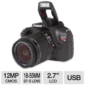 Canon EOS Rebel T3 DSLR Camera