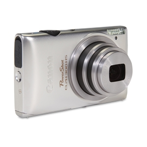 Canon 300 HS PowerShot Elph Silver 12MP Camera