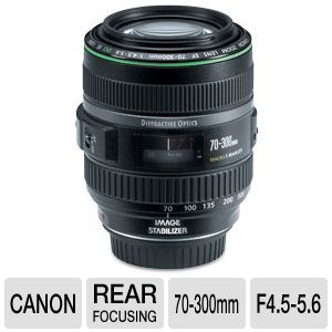 Canon EF 70-300MM F4.5 -5.6 Telephoto Zoom Lens