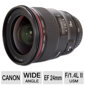 Canon EF 24MM F/1.4L II USM Camera Lens