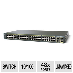 Cisco C2960-48TC-L Switch