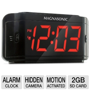 Defender ST300-SD Covert DVR / LED Alarm Clock