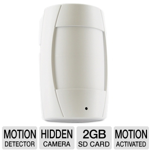 Defender STEALTH1 Covert DVR/Motion Detector