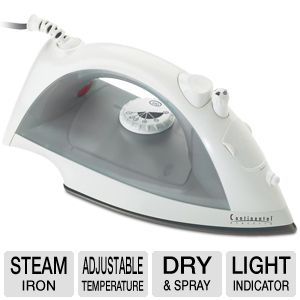 Continental Electric Dry & Spray Steam Iron
