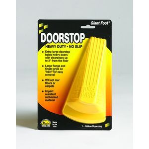 Master Caster� Giant Foot� Doorstop