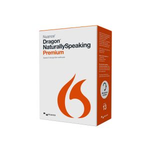 Dragon NaturallySpeaking Premium (v. 13) - box