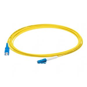 AddOn 9m LC to SC OS1 Yellow Patch Cable - patch