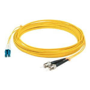 AddOn 5m LC to ST OS1 Yellow Patch Cable - patch