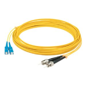 AddOn 5m SC to ST OS1 Yellow Patch Cable - patch