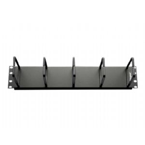 C2G 2U Horizontal Cable Management Panel with 5