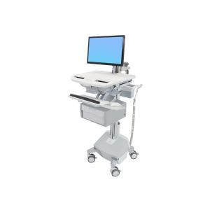 Ergotron StyleView Cart with LCD Arm, LiFe