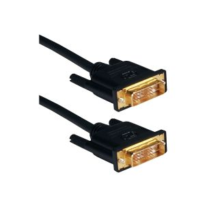 QVS Ultra High Performance - DVI cable - 16.4 ft