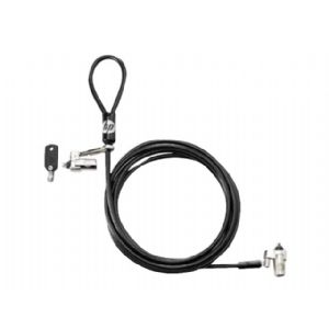 HP Dual Head Keyed Cable Lock - security cable