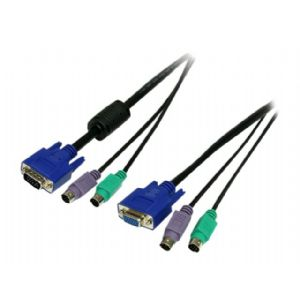 StarTech.com 3-in-1 Universal PS/2 KVM Cable