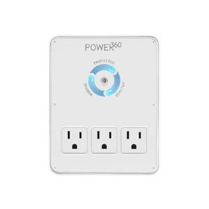 POWER360 6 OUTLET WALL DOCK