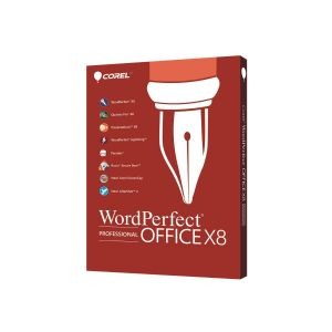 WordPerfect Office X8 Professional Edition - box