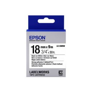 Epson LabelWorks LK-5WBW - label tape - 1 r