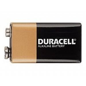 Duracell CopperTop MN 1604 - battery - 9V