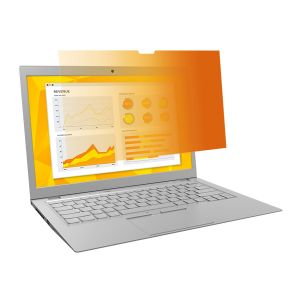 3M PRIVACY FLT GOLD 15.6IN LAPTOP GPF15.6W