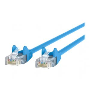 Belkin patch cable - 25 ft - blue - B2B