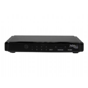 StarTech.com 4-to-1 HDMI Video Switch with Remote
