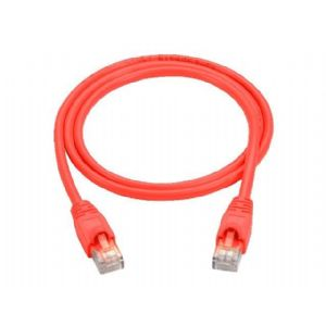 Black Box patch cable - 15 ft - red
