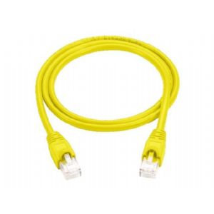 Black Box patch cable - 15 ft - yellow