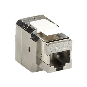 Black Box CAT6a F/UTP Outlet Jack Shielded