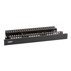 Black Box Rackmount Cable Raceway Double-Sided
