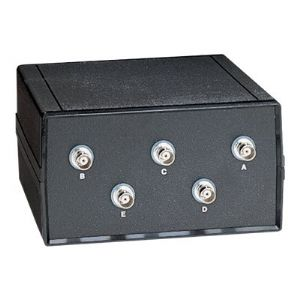 Black Box Coax Switch ABCDE (4 to 1) - switch - 4