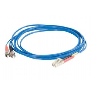 C2G LC-ST 50/125 OM2 Duplex Multimode Fiber Optic