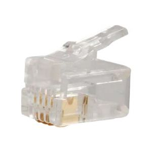 C2G 4X4 Handset Plug - network connector - cl