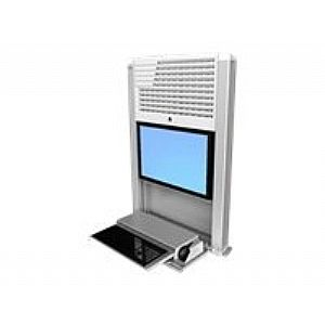 Ergotron StyleView Sit-Stand Enclosure - cabinet