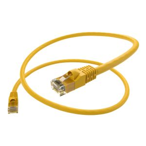 Unirise 12ft Yellow Cat6 Patch Cable, UTP,