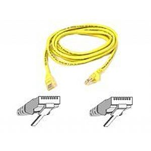 Belkin patch cable - 4 ft - yellow