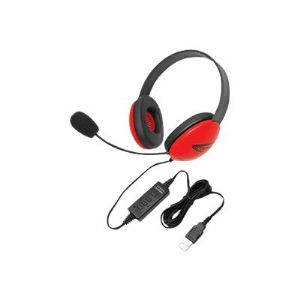 Califone Listening First Stereo Headset 2800RD-USB