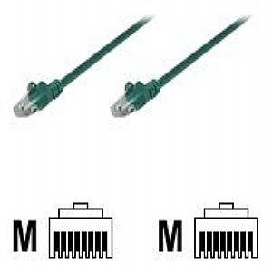 CAT-5E UTP PATCH CABLE, 7FT, GREEN