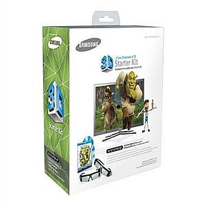 Samsung SSG-P2100S/ZA Shrek 3D Starter Kit-2x 3D Glasses, 3D Blu-Ray Movie Disc, (Open Box)