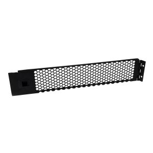 StarTech.com 2U Hinged & Vented Blank Rack Panel