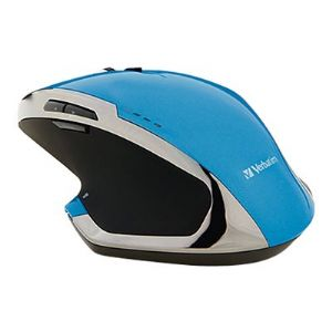 Verbatim Deluxe - mouse - 2.4 GHz - blue